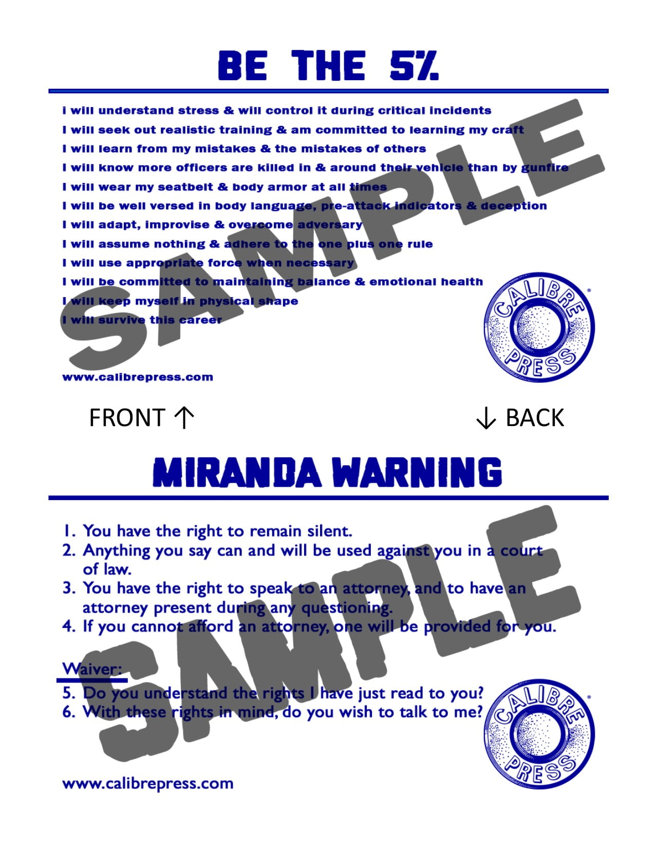 Miranda Cards New